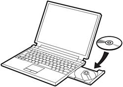 Привод дисков на ноутбуке