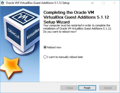 Дополнения гостевой ОС в Virtualbox